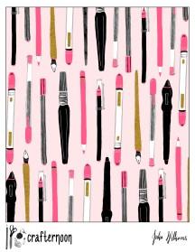 pens pink
